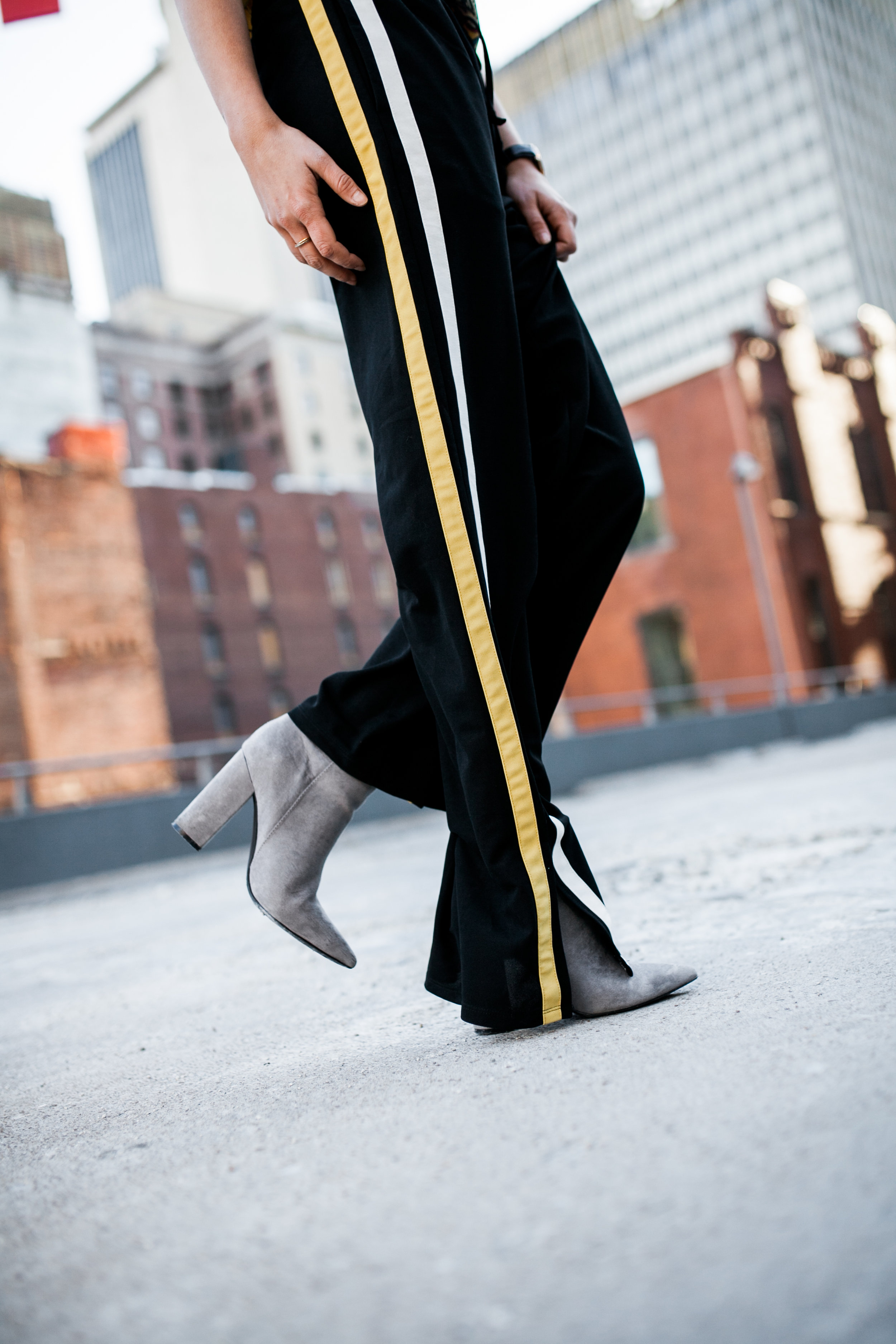 wide leg slit track pants with side stripe.jpg