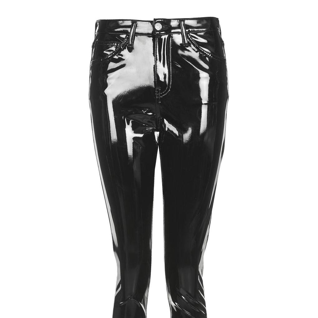 topshop black vinyl pants.jpg