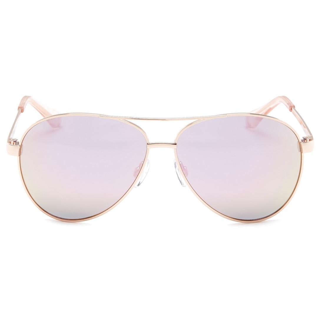 diane von furstenberg rose gold aviator sunglasses.jpg