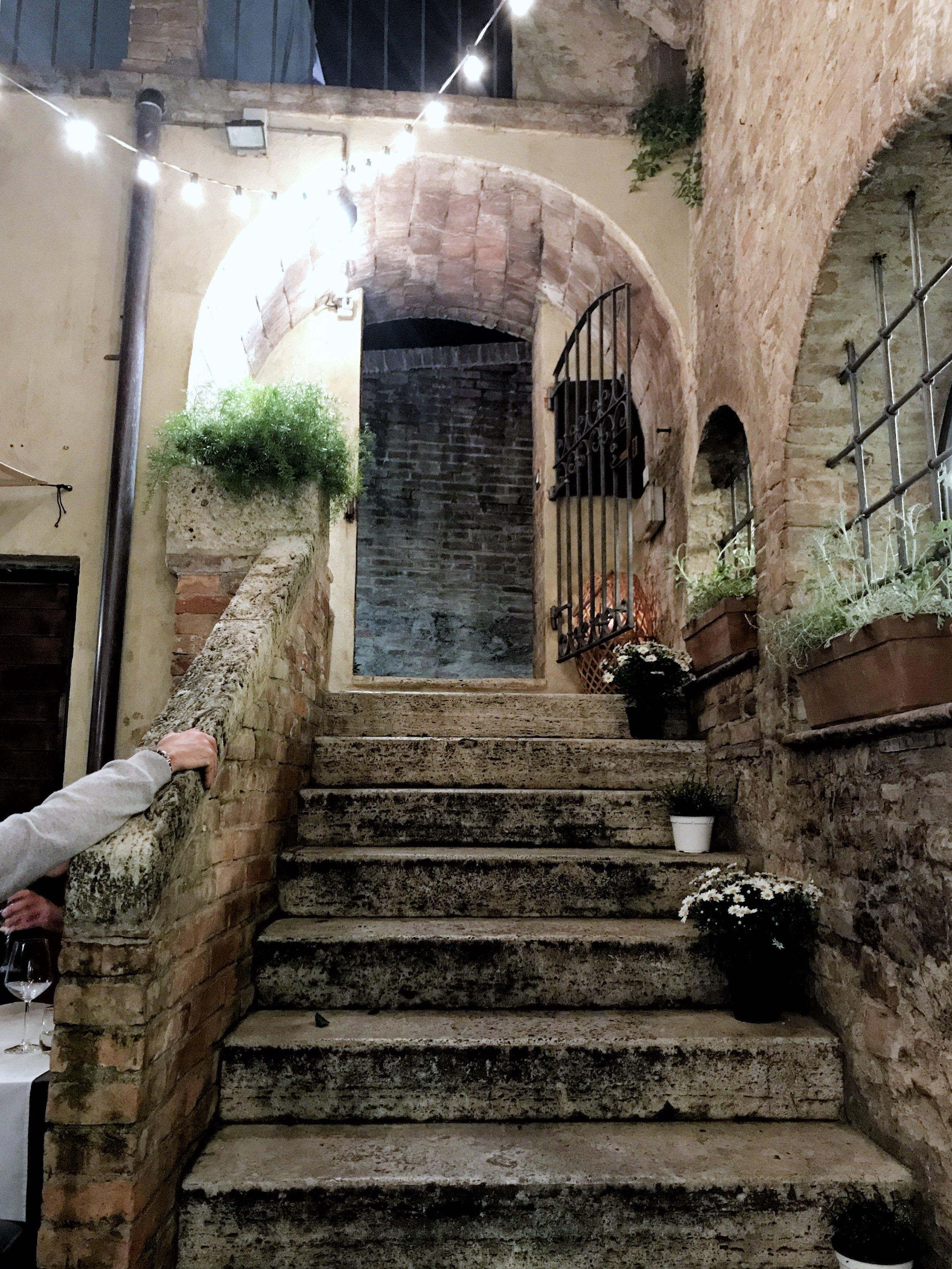 Il Campaccio restaurant in Siena, Italy