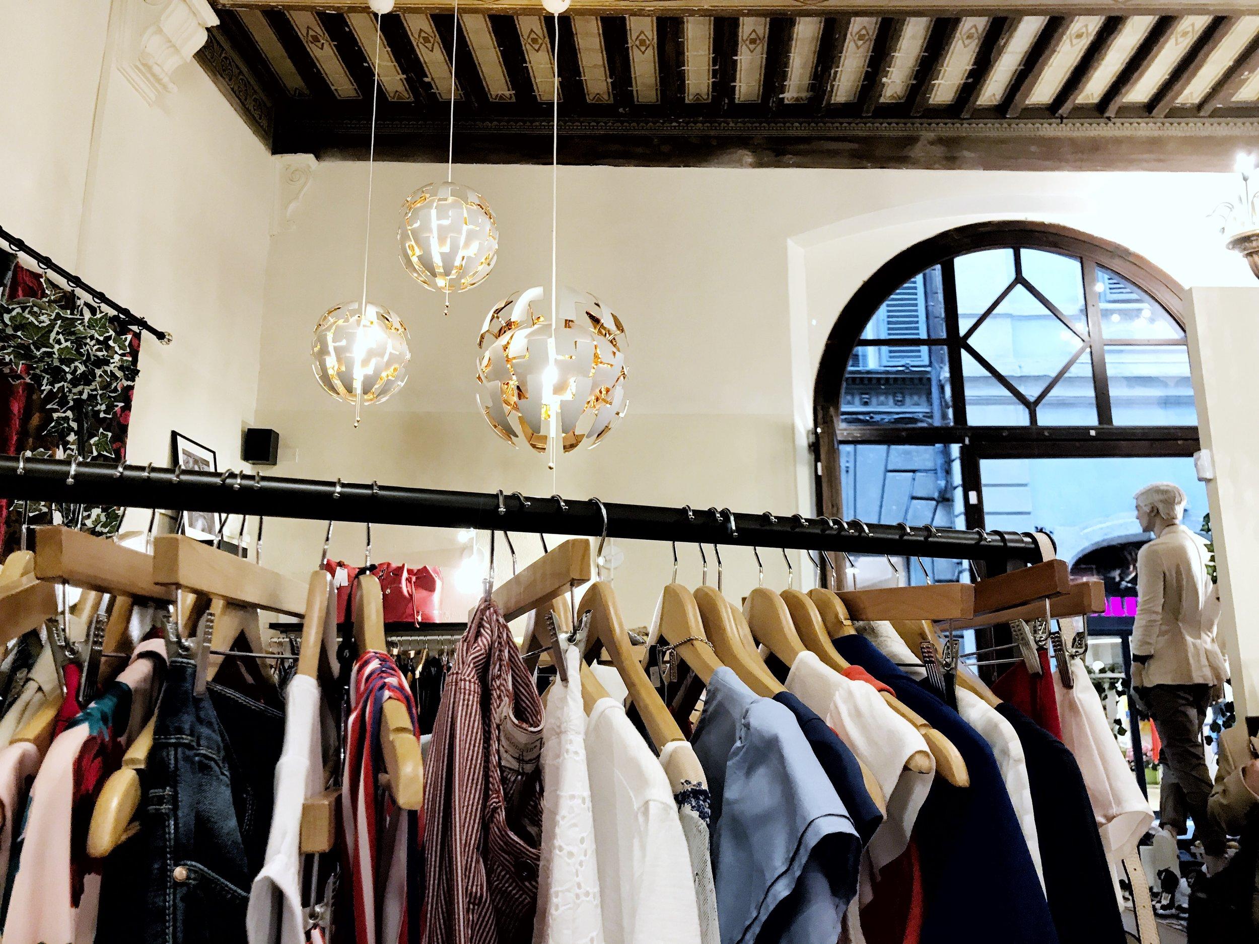 Shopping in Siena at Gia Cri