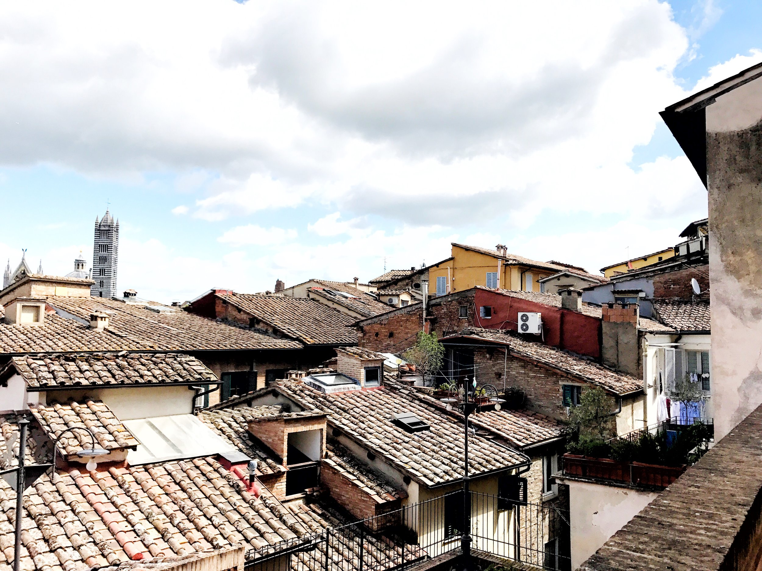Rooftops of Siena, Italy