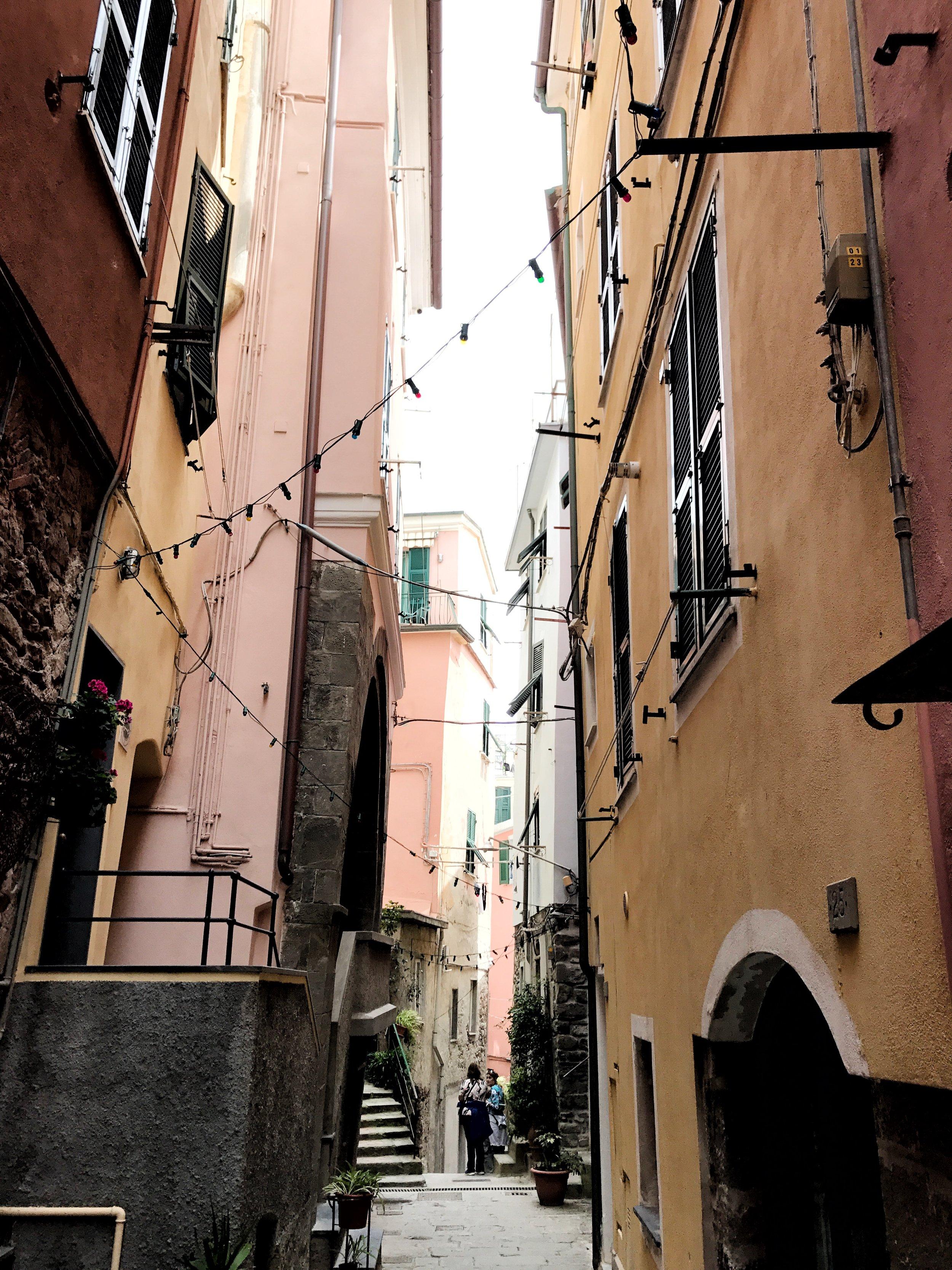 Streets of Vernazza, Cinque Terre, Italy