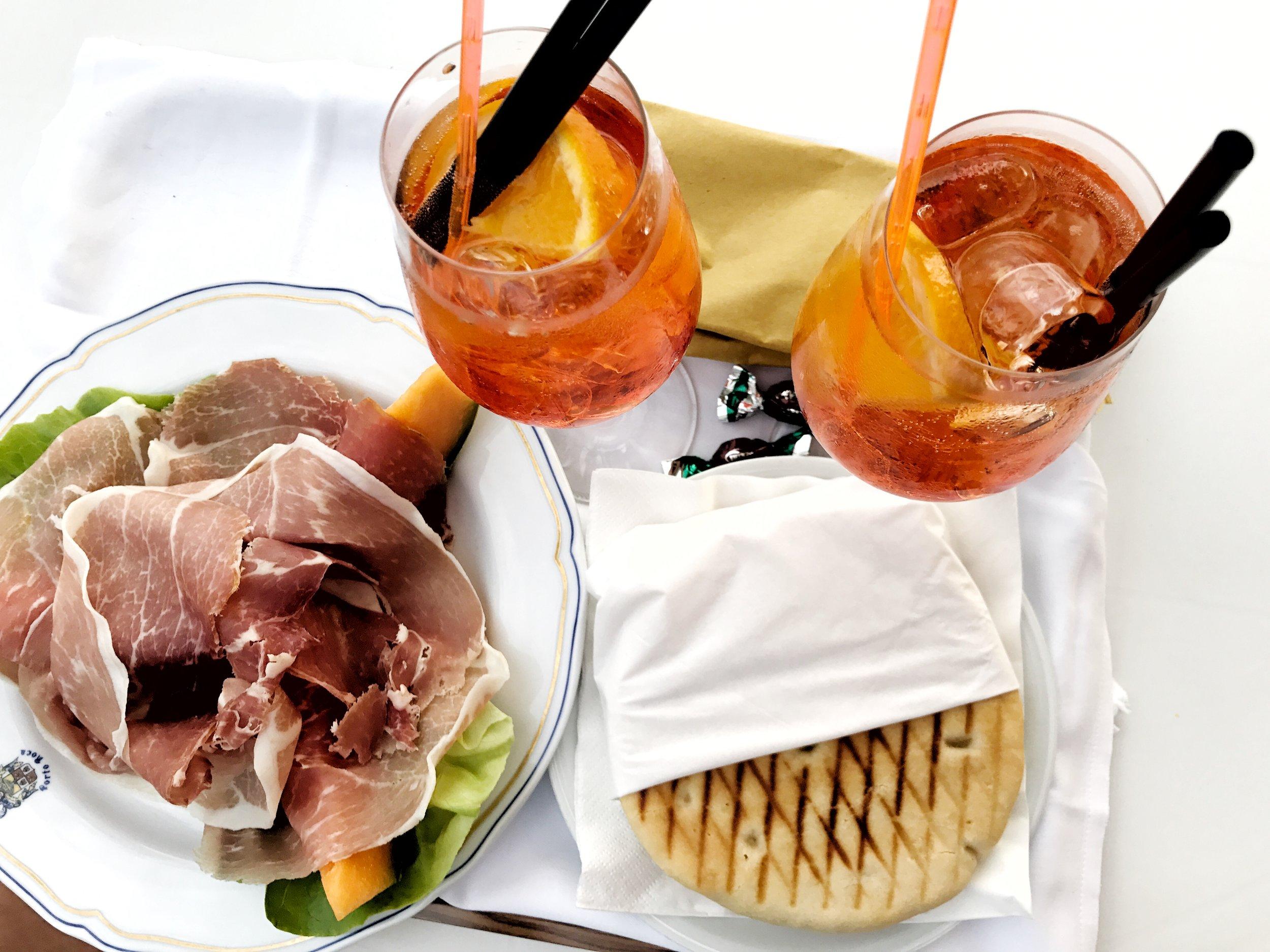 Room service at Hotel Porto Roca in Monterosso al Mare