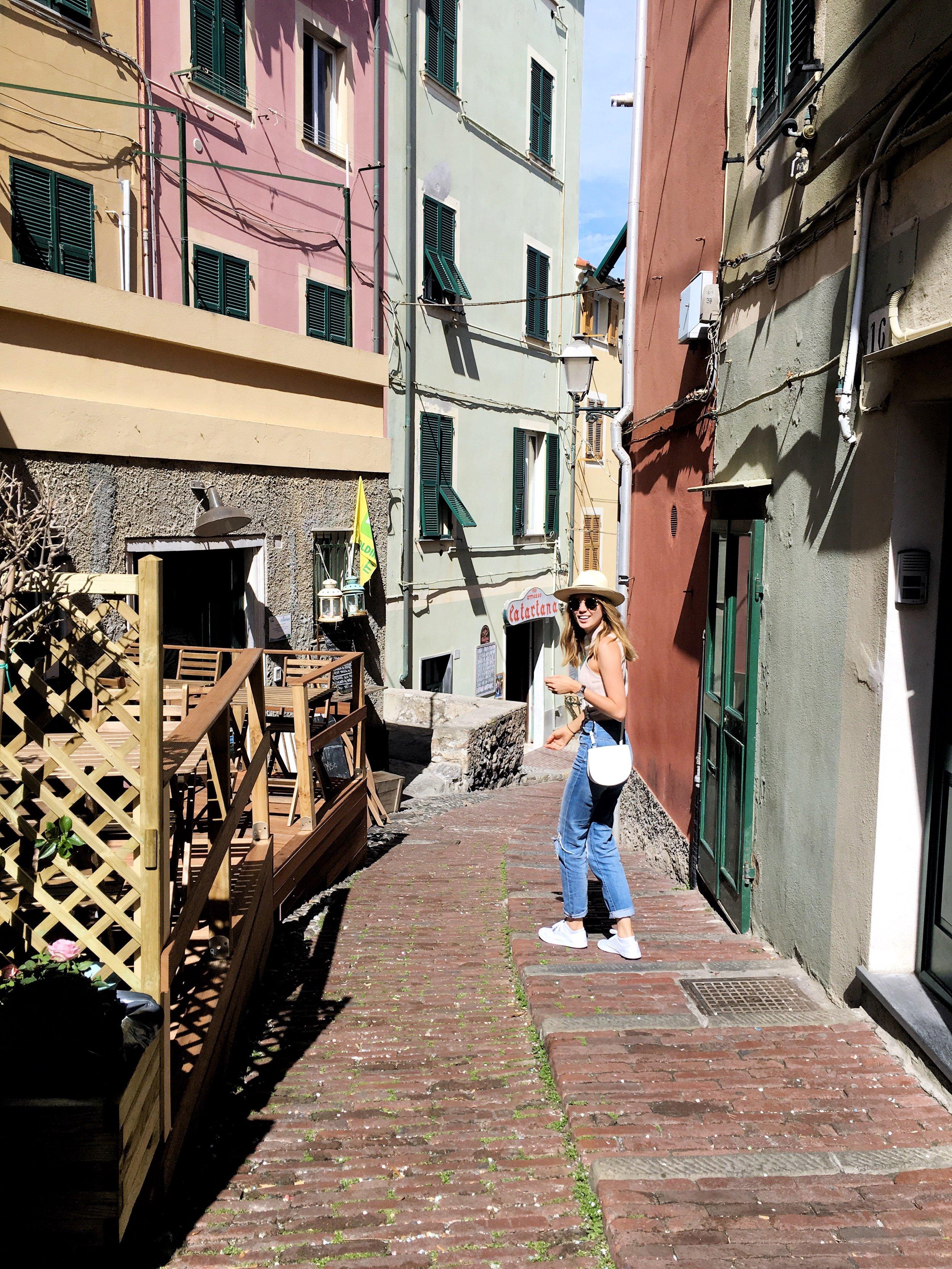 In search of gelato in Genova, Italy
