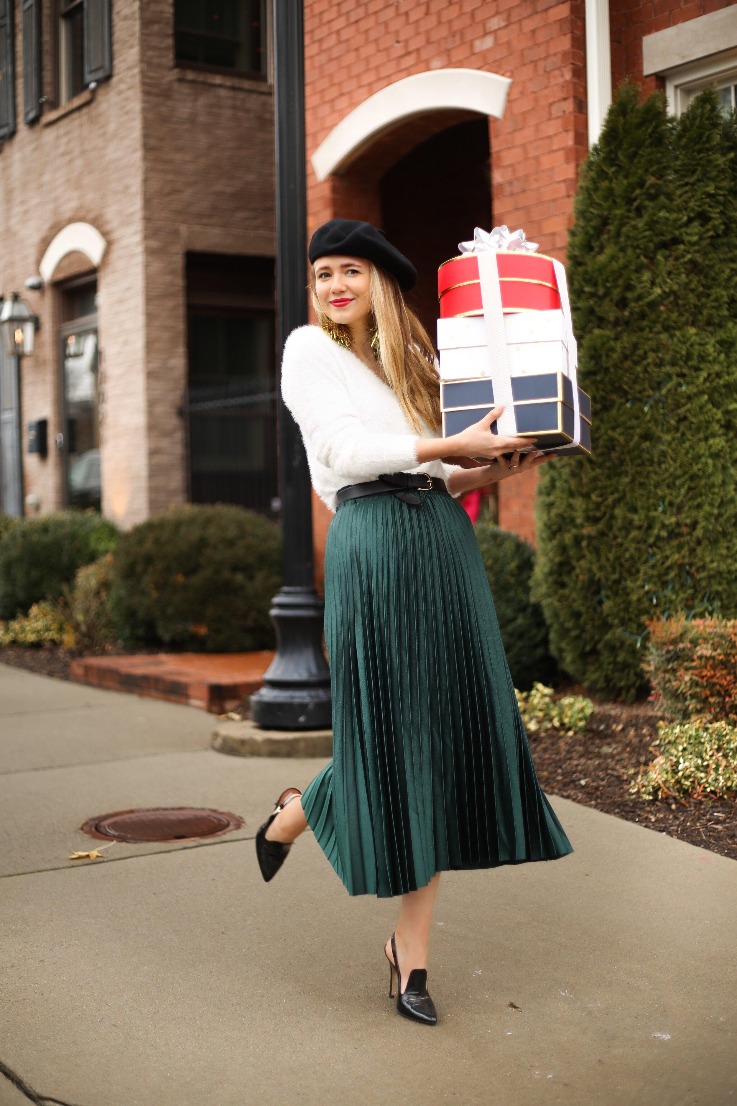emerald-green-pleated-midi-skirt.JPG