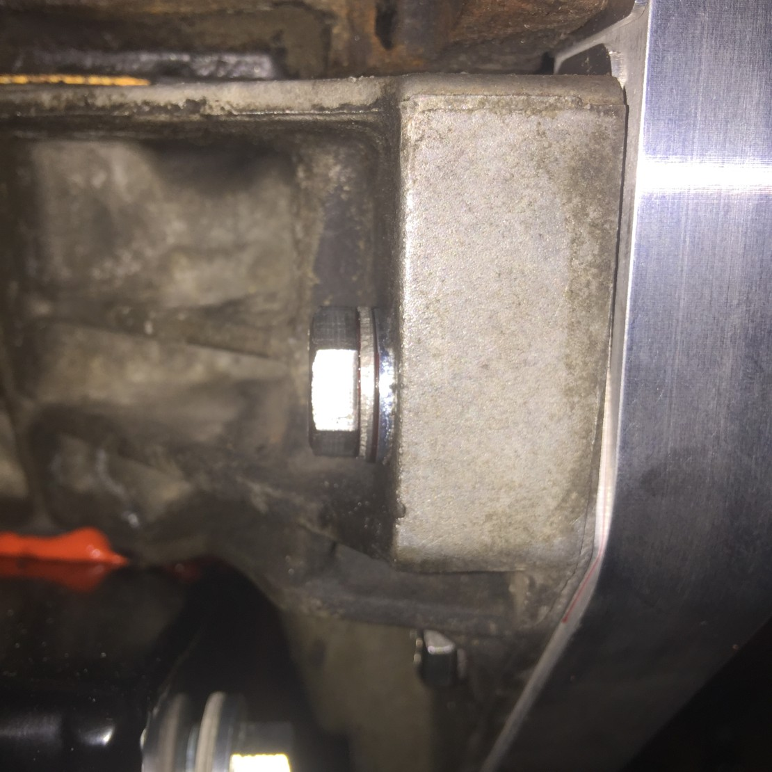 Washer Shims – I think all but one of the bolts required an extra washer or two to shim the bolts to the proper depth.