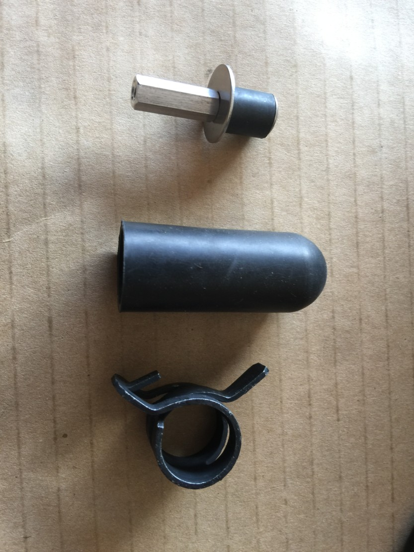 Pieces For The Turbo Drain
