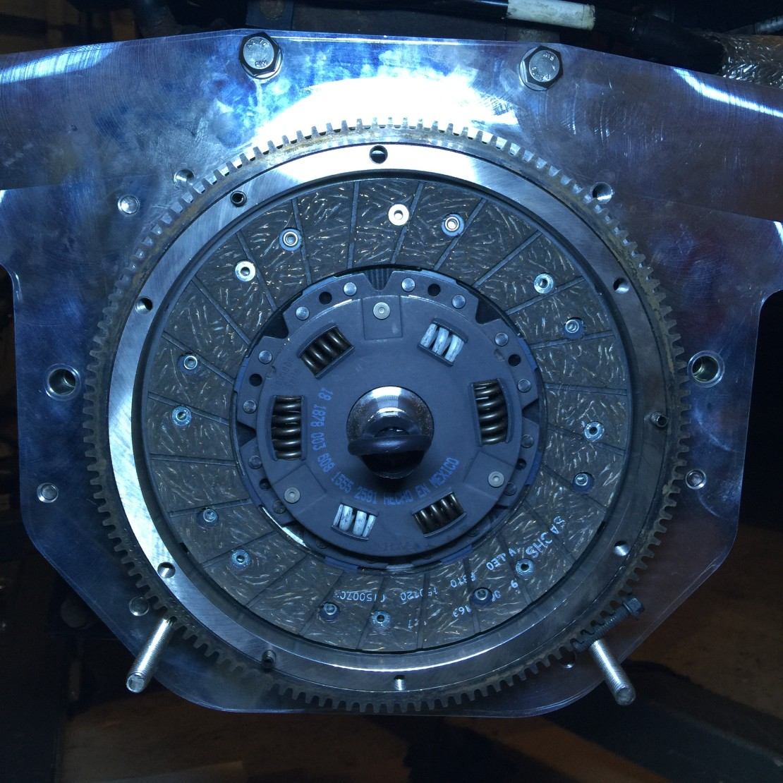 New clutch plate.