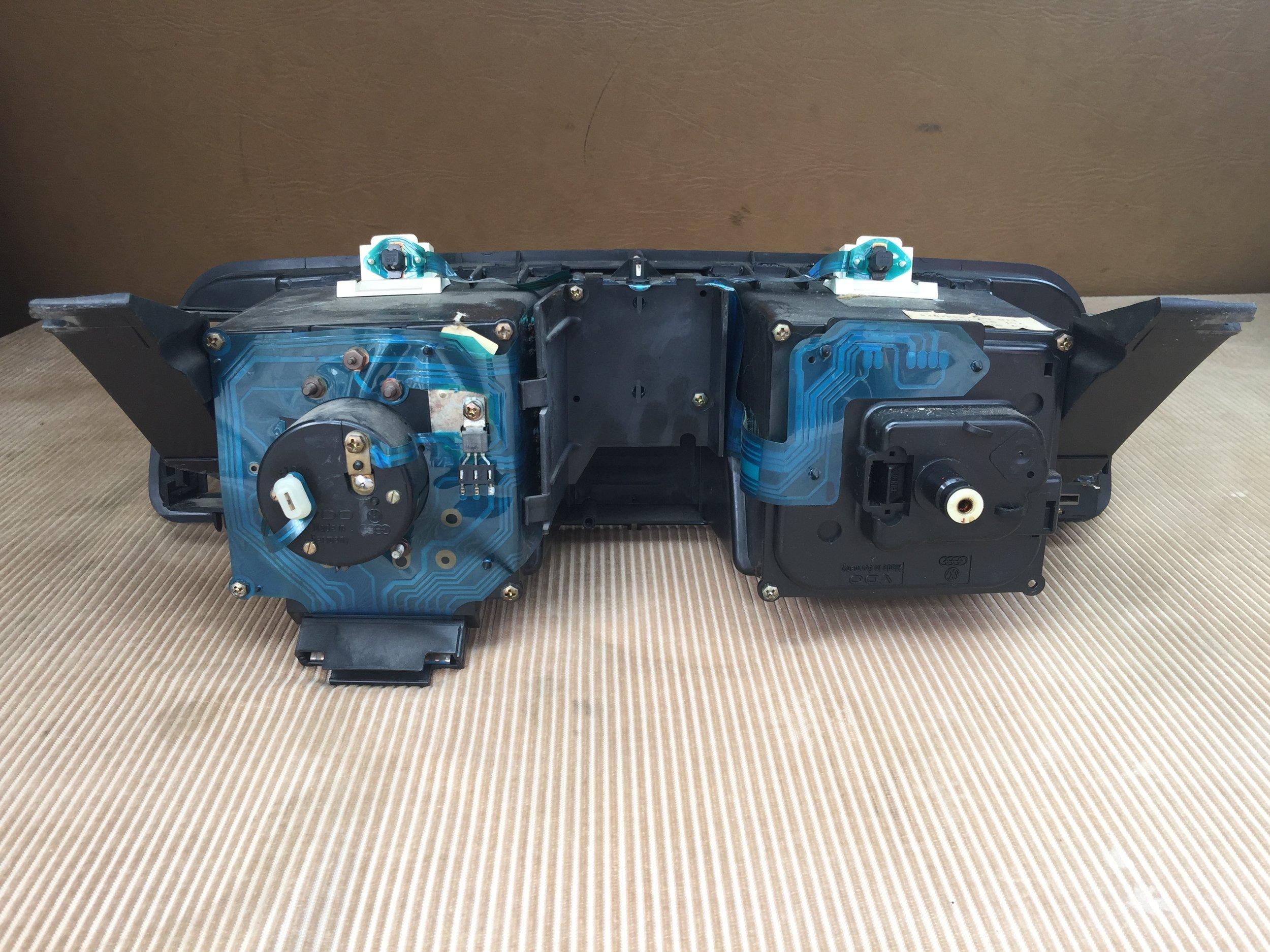 Instrument Cluster Foil Repair