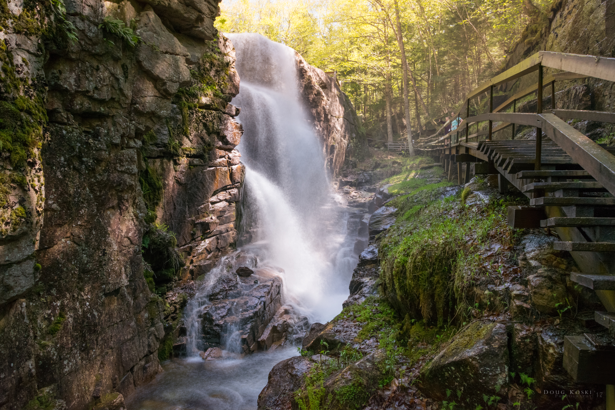 Franconia Notch - The Adventure with Andy