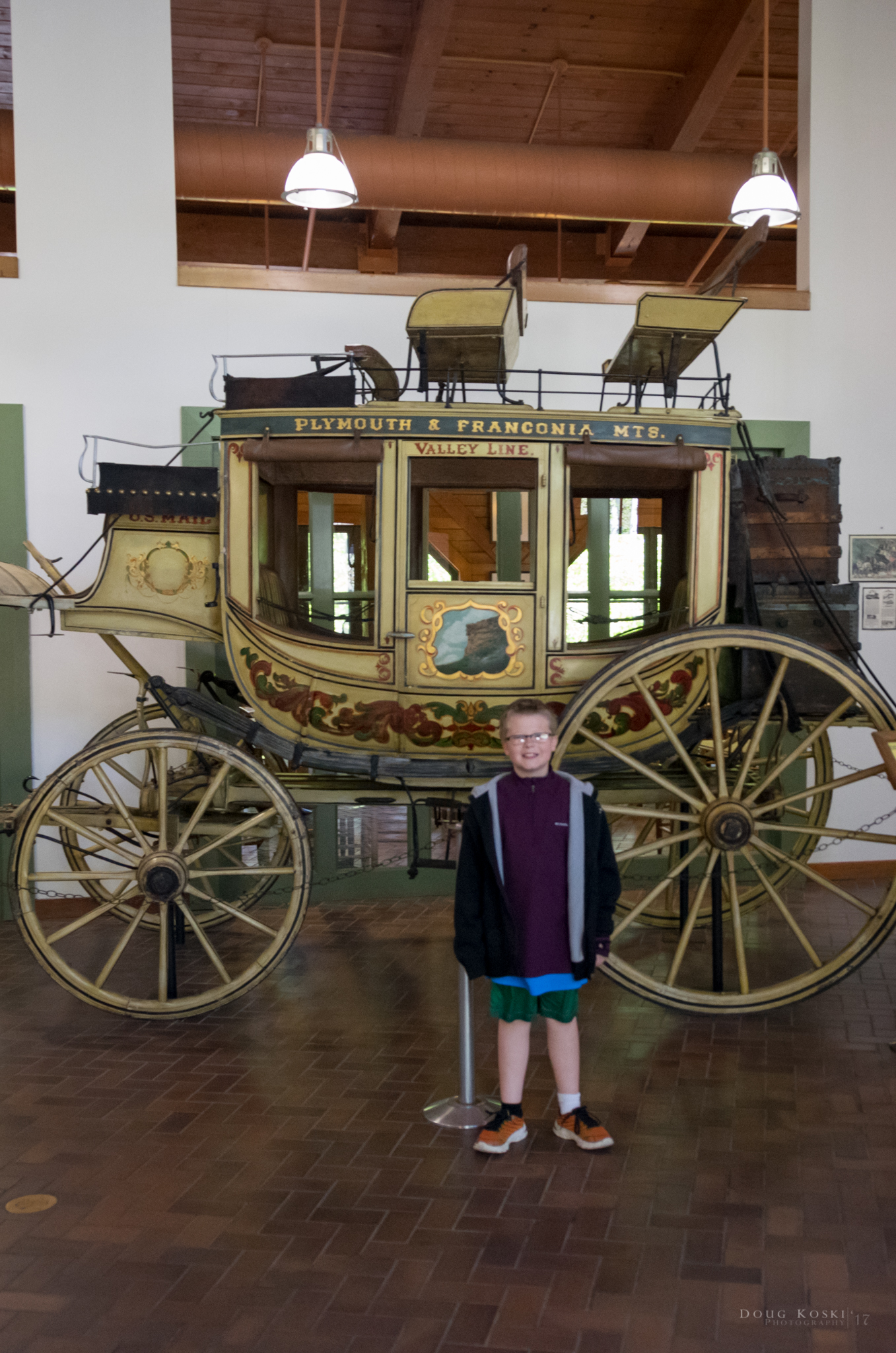 The Antique Carriage - in the main lobby was also a find that Andy thought was pretty cool to see in person.