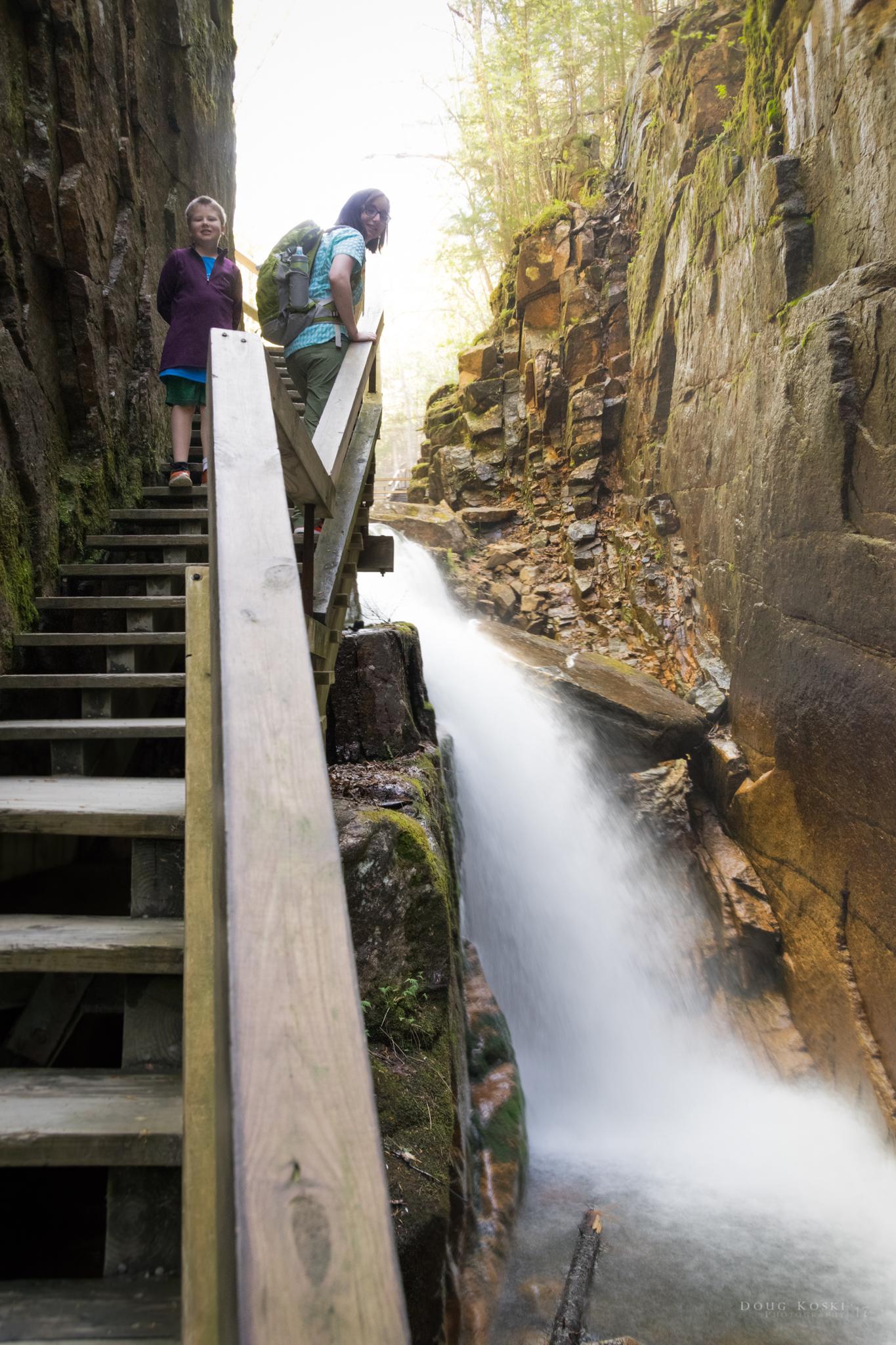 The Waterfalls Begin -