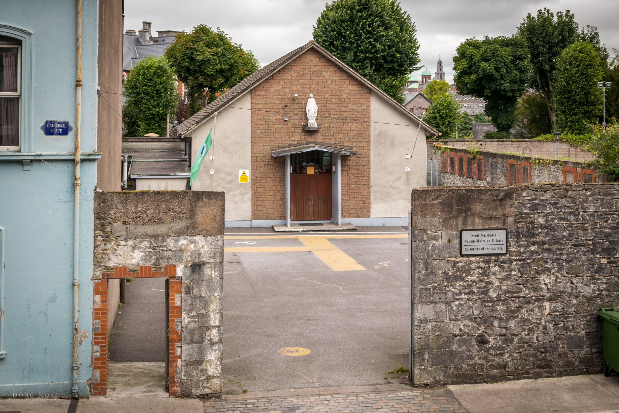 Alma Mater - This was Sinéad's old school, back in the day. It was also right across the street from the church.