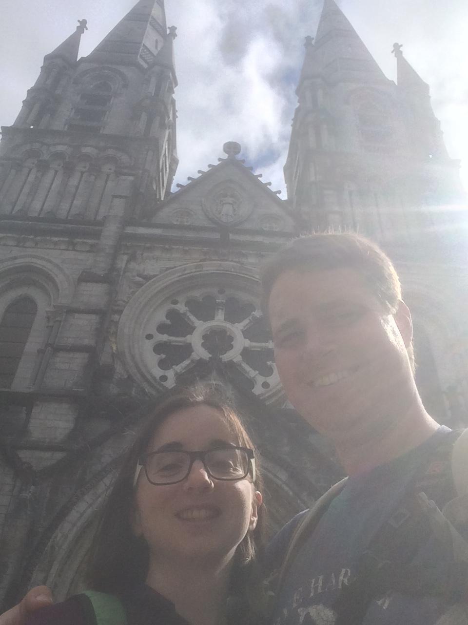 One last Selfie before we go! -