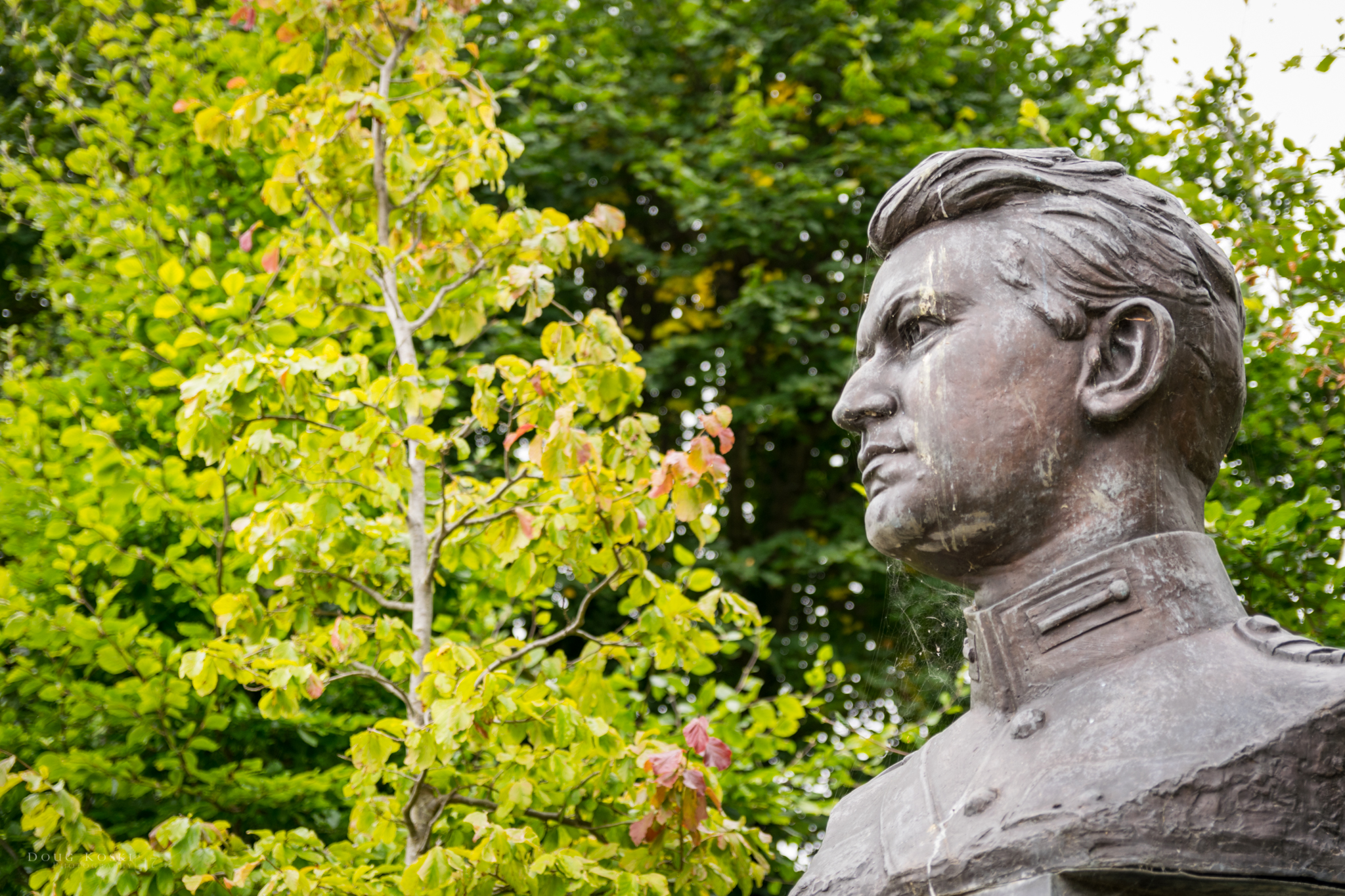 Michael Collins - It was suggested we remember to genuflect when getting close to this statue.