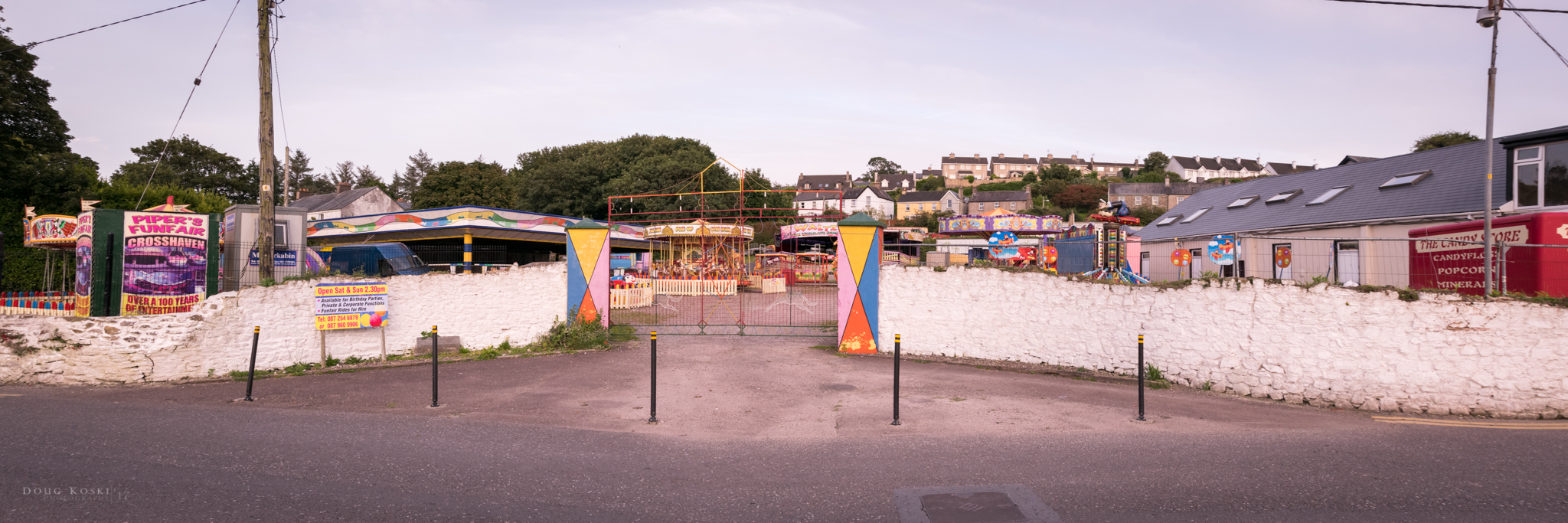A little amusement park that Sinéad used to go when she was much younger.