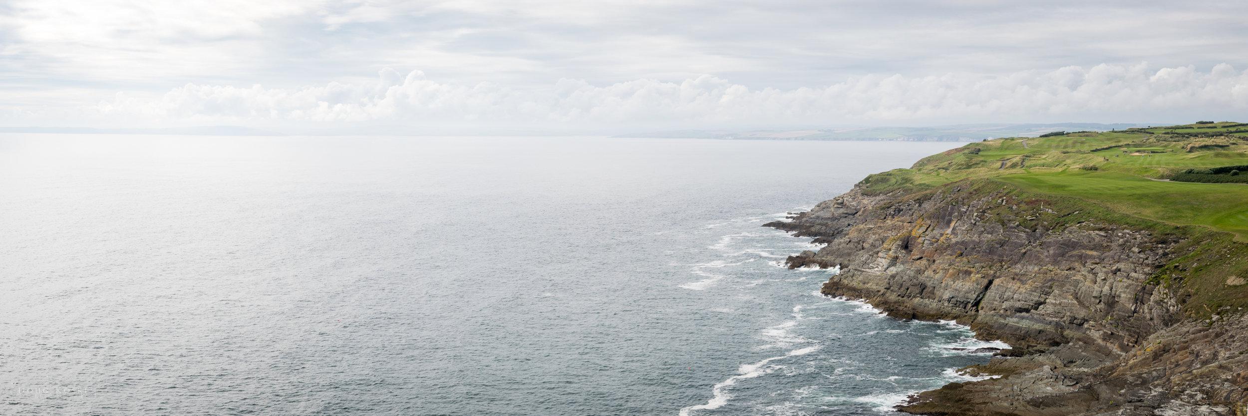Irish Coast off Old Head