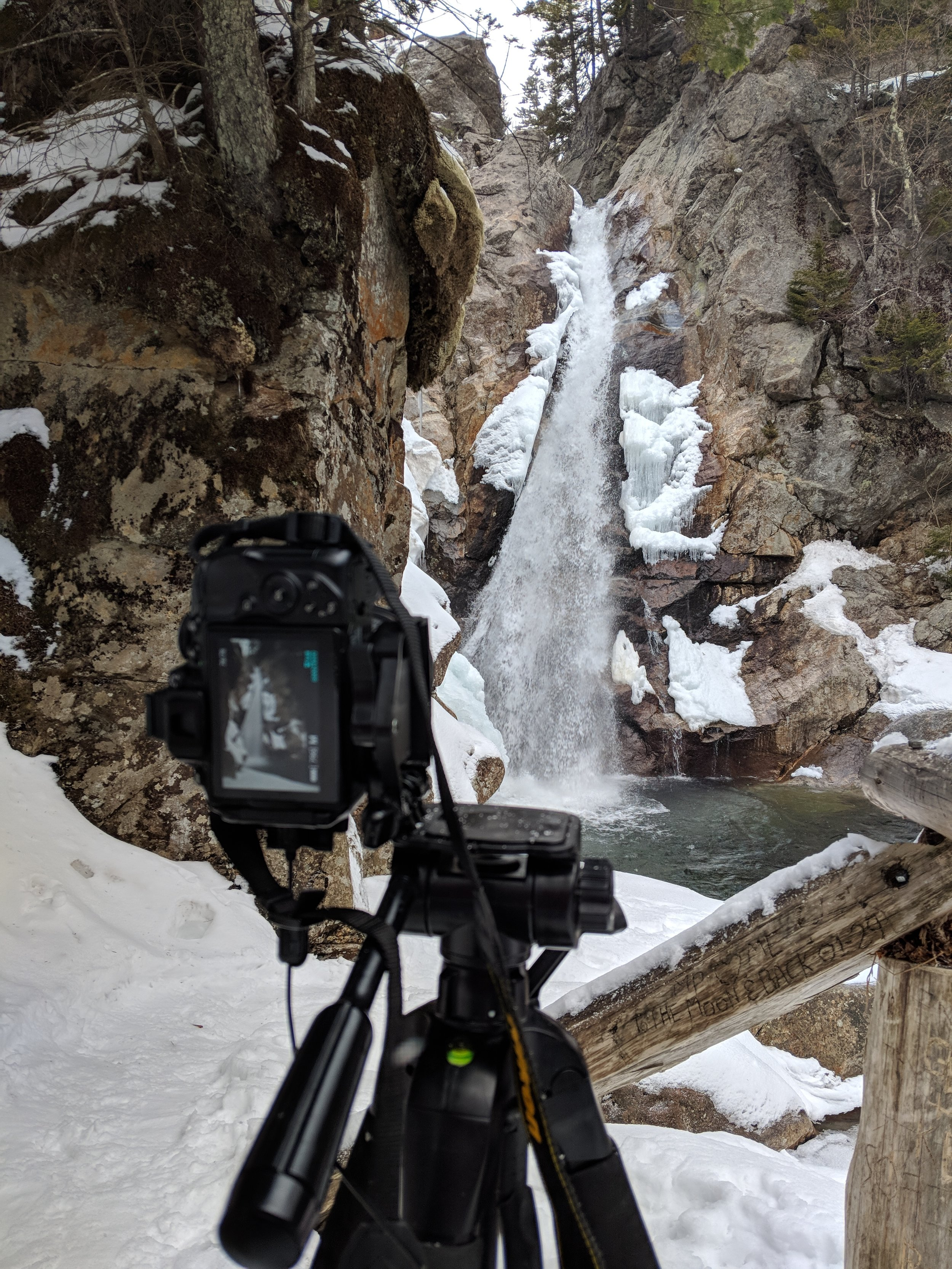 The Setup - It was a nice little spot to setup for a shot