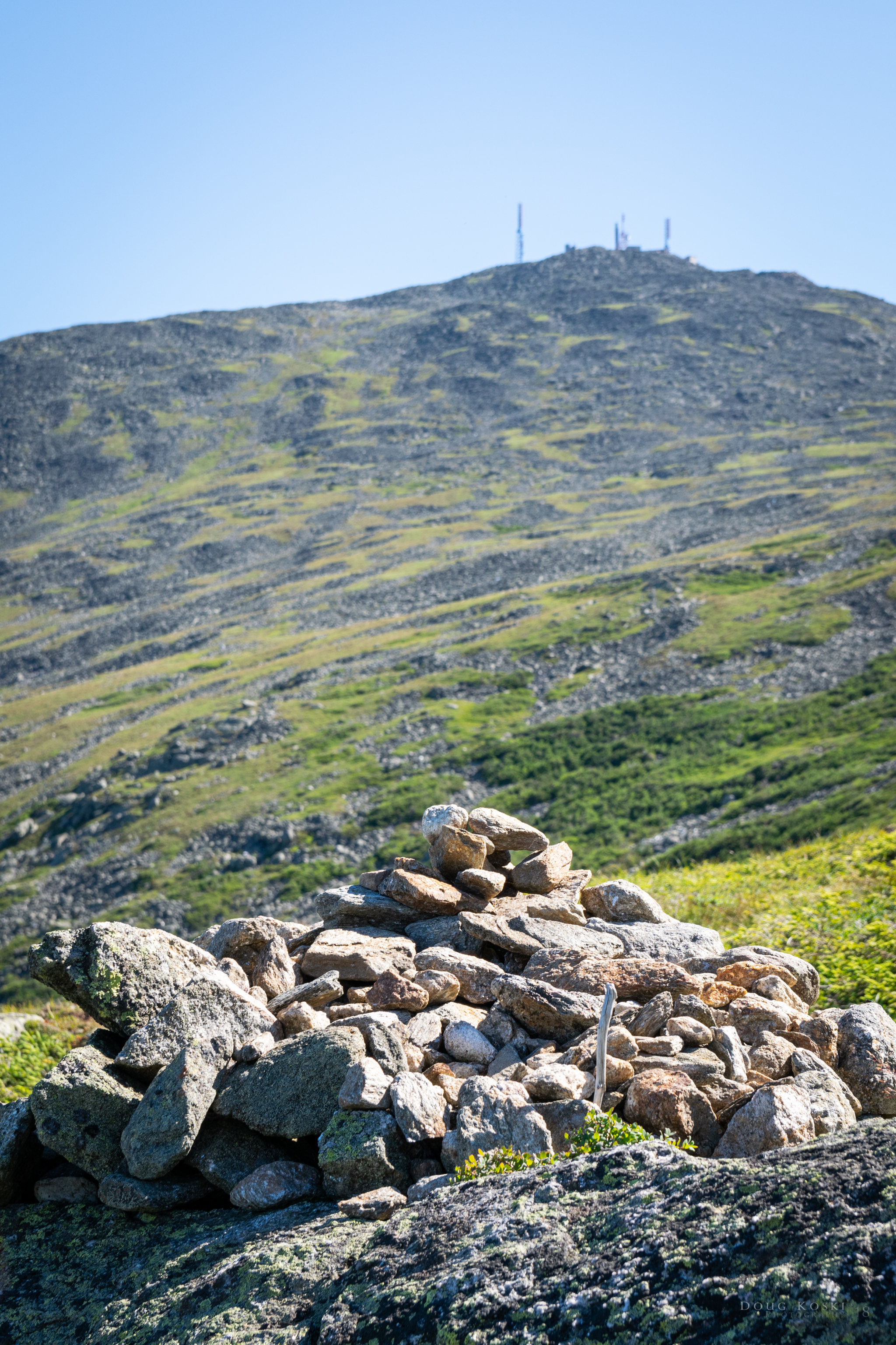 Even though the summit was well within sight,the Cairns will lead the way.