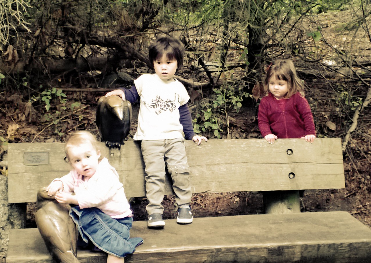 My oldest and some of her PEPS friends at the zoo in Seattle in 2013.