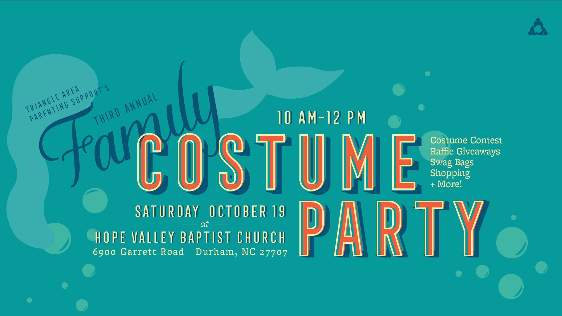 Costumes, Raffles, Photos, Vendors, Teal Pumpkin and Trick-or-Treats, Games, and Fun!