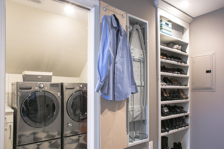Mirror Panel with Convenient Storage