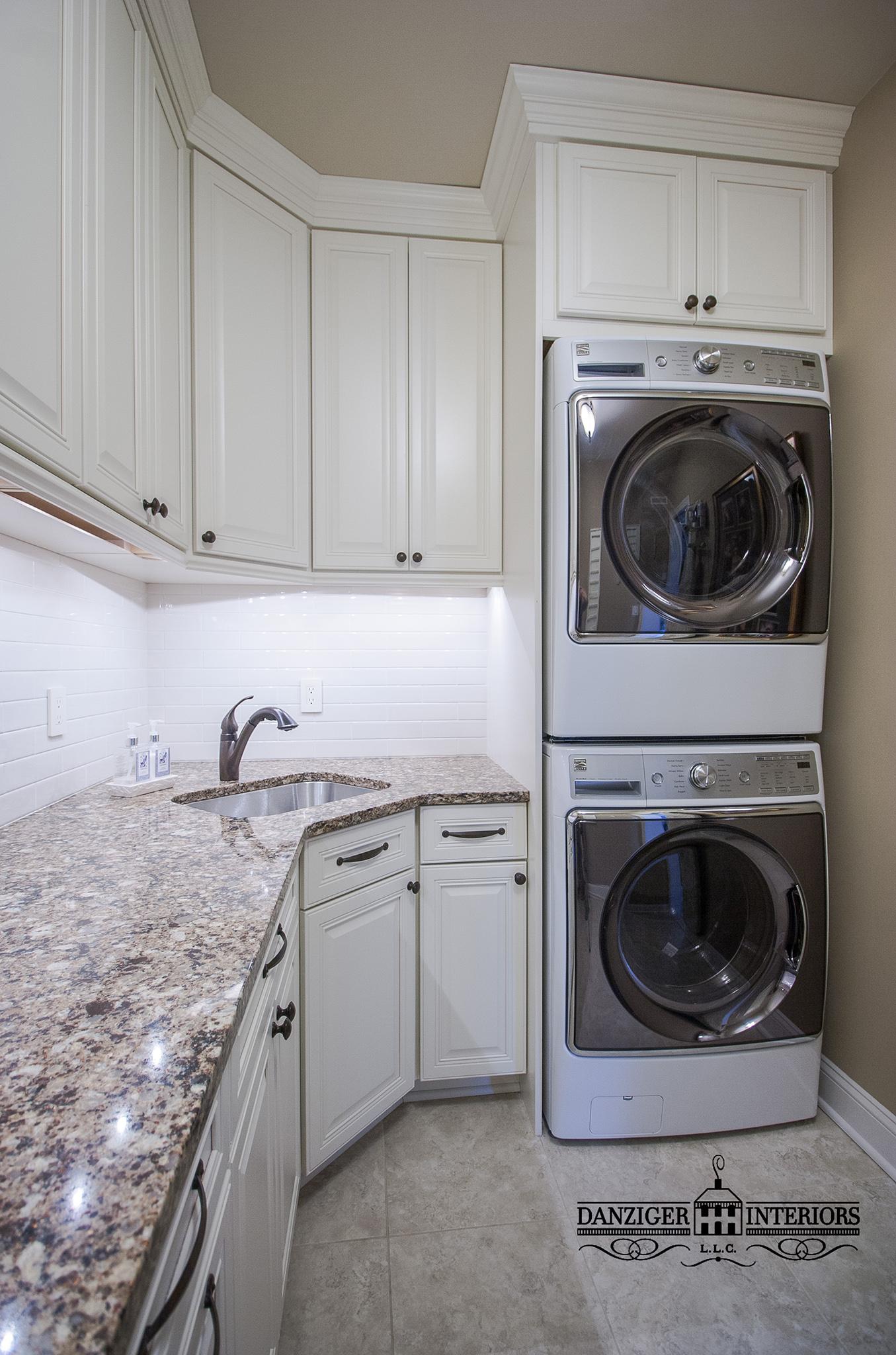 Bright & Airy Laundry Room