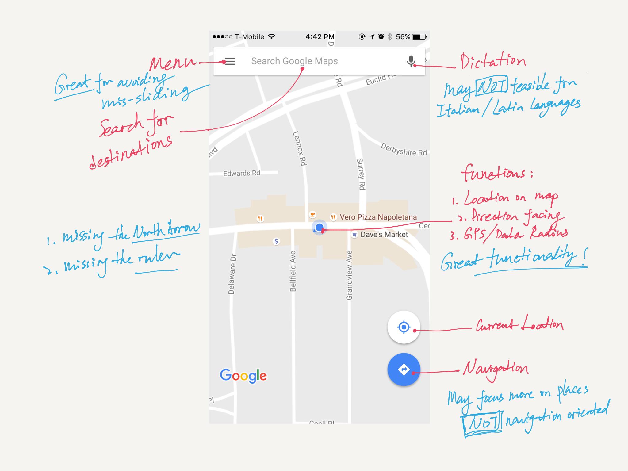 Study on Google Maps
