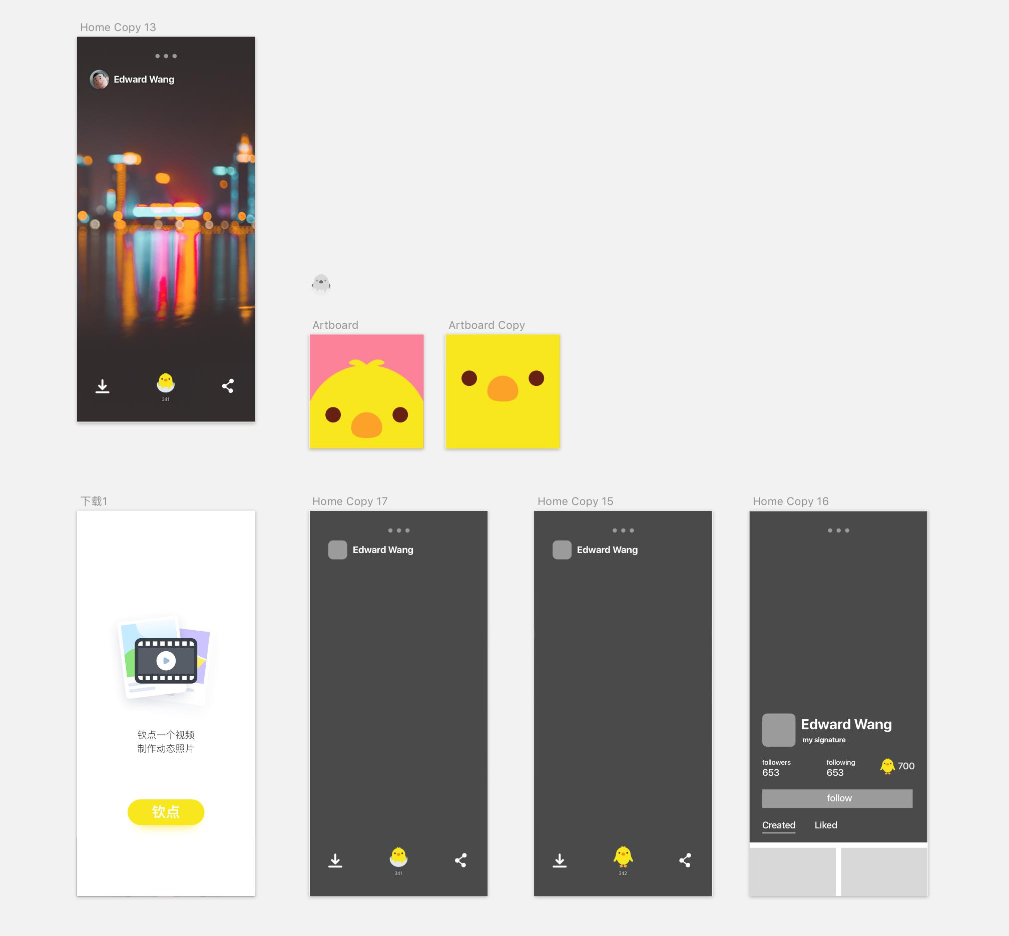 3.0 Initial Designs