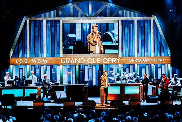 Great night out with @adamdoleac at the @opry last night! Many more nights like this to come!