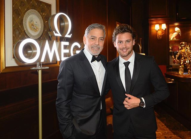 @bastianbaker attended @omega 's 50th anniversary celebration of the Apollo 11 Moon Landing at NASA's Kennedy Space Center last night.