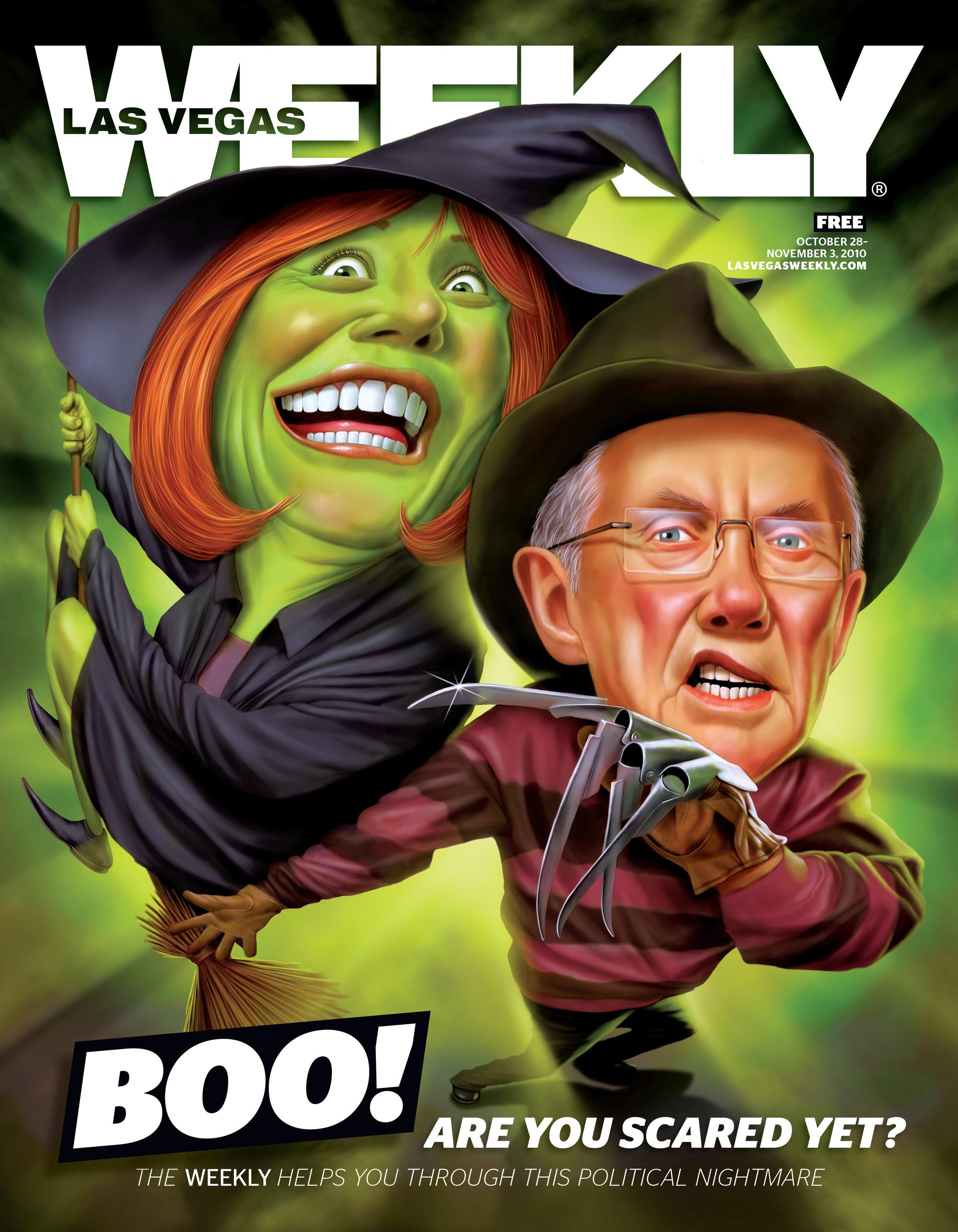 James Shepherd ,  Las Vegas Weekly , 2010