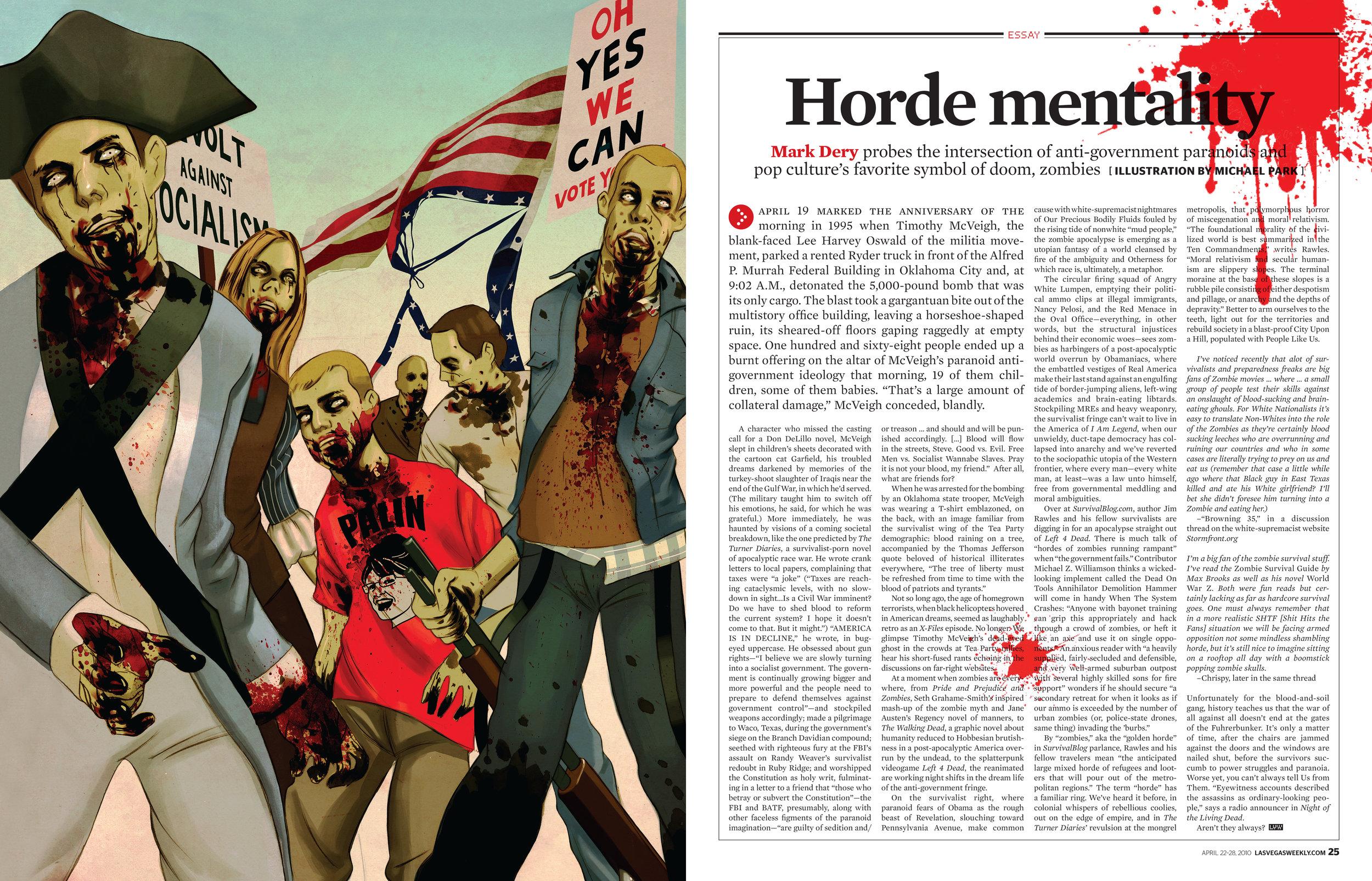 Michael Park ,  Las Vegas Weekly , 2010