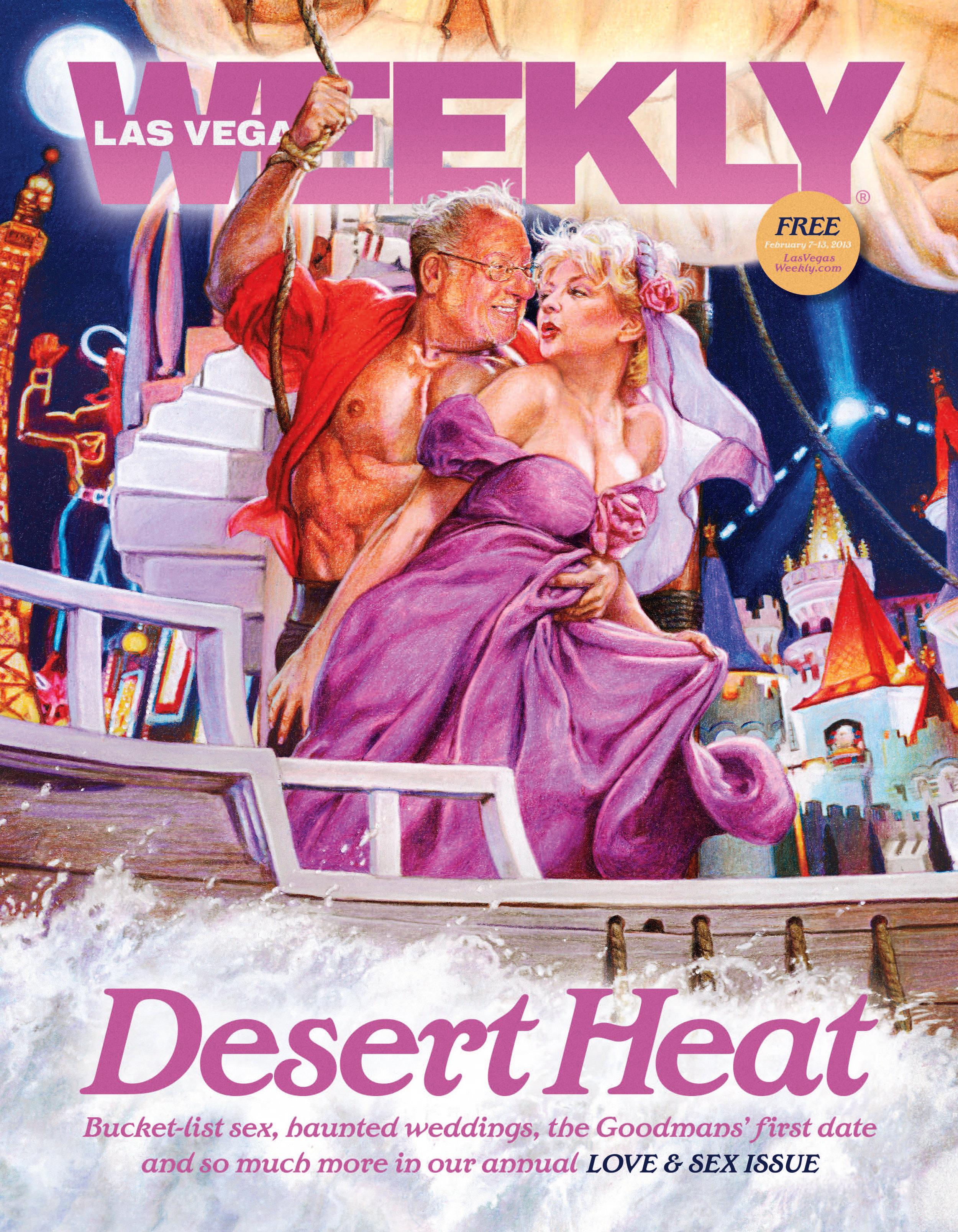 Chris Notarile ,  Las Vegas Weekly , 2013