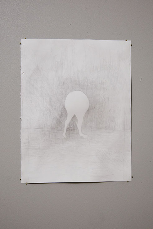 Untitled  , 2017  graphite on paper