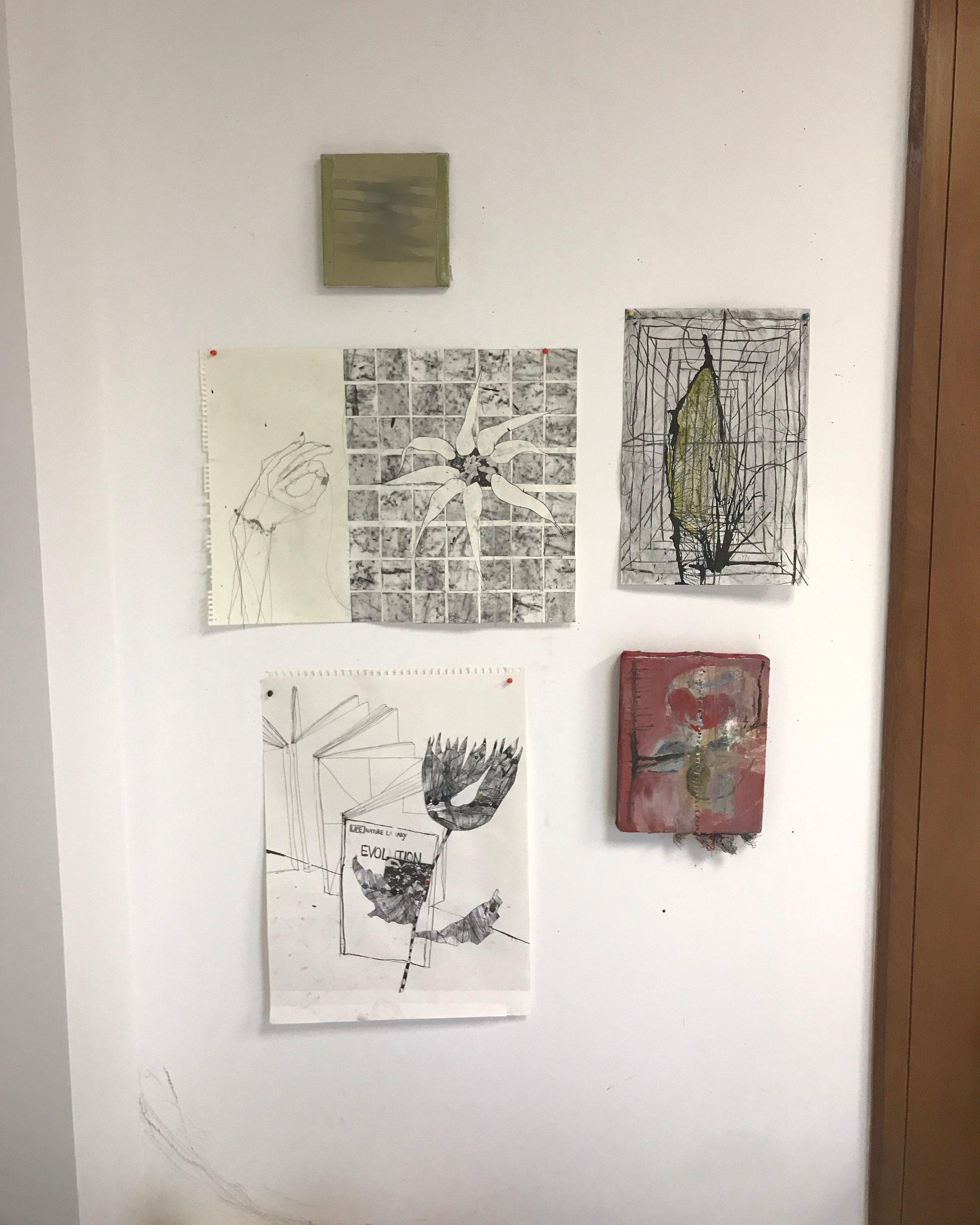 studio wall 2019