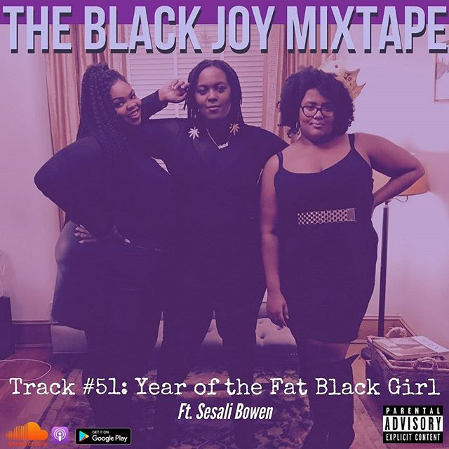 """#Flashback to this track! Yo fav news and politics #podcast #BlackJoyMixtape Track #51 Year of the Fat Black Girl ft @badfatblackgirl is @therealmoworldwide and @bitchmedia approved! We released this track a couple weeks ago and have since watched Monique on #TheView and #BreakfastClup and we are PERPLEXED why it's so hard to understand that Black Women, regardless of their management, """"good"""" behavior, awards, or accomplishments still are over worked and underpaid in Hollywood-a long legacy that must be broken there and in every sector! That won't happen if folks like @therealmoworldwide dont speak up. Auntie Mo'nique Supreme, when you're ready to do an interview youre worthy of, that will honor your funny and fierce, #BlackJoyMixtape will be here. 💜 💜 💜 Available on #SoundCloud #Itunes #GooglePlay. Rate, like, subscribe,  and SHARE! 💜 💜 💜 #podsincolor #BlackJoy #Blackpodcast #womenpodcasters #news #politics #wagegap #BlackGirlMagic #Monique"""