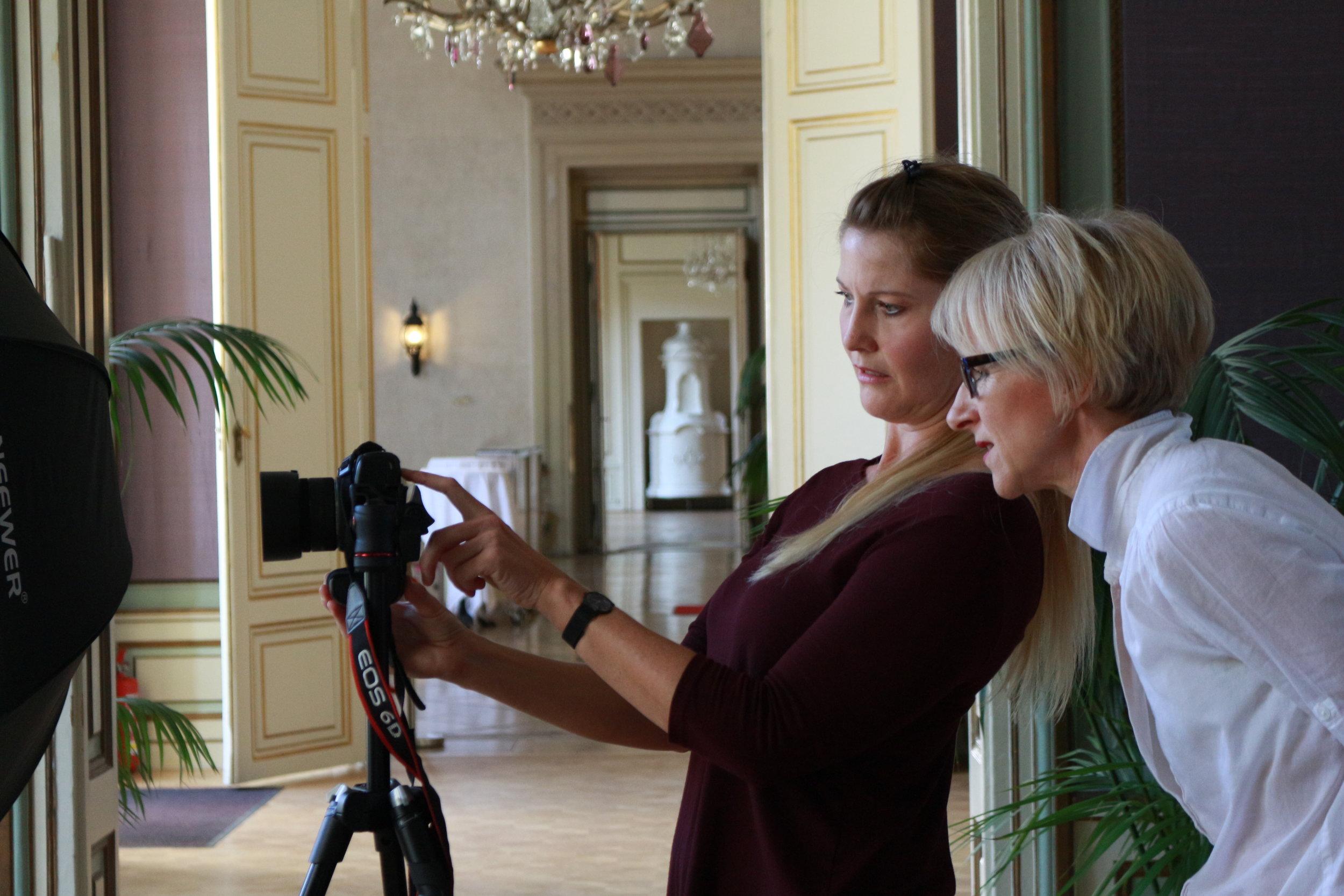 With Lizelle de Wit