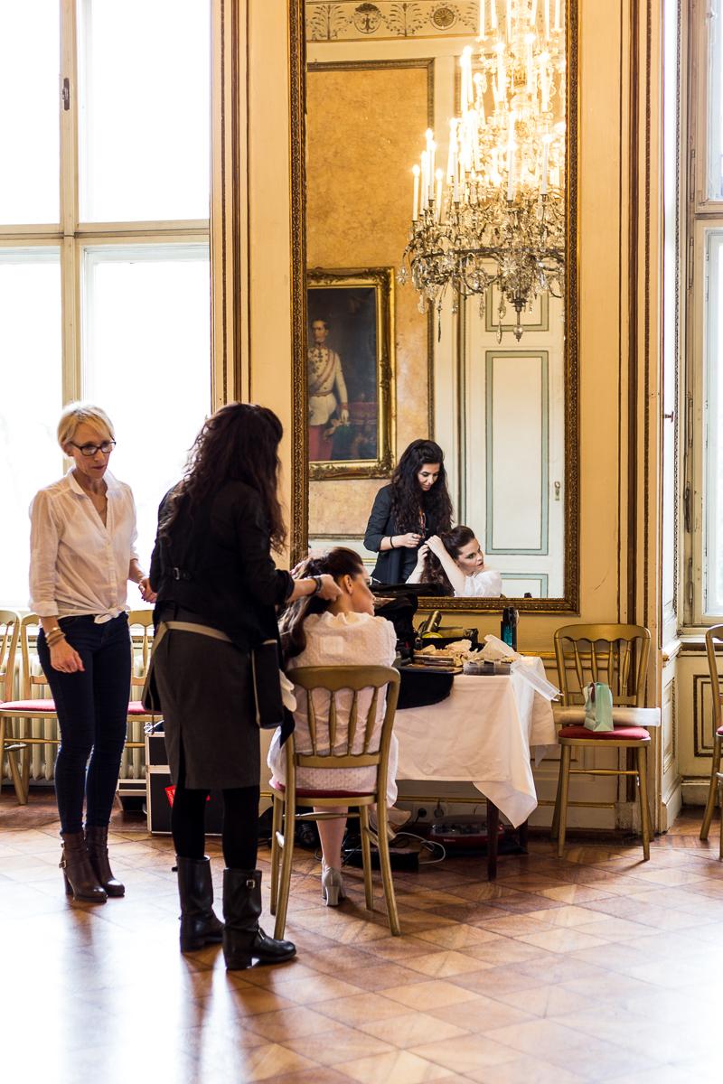 Behind the Scenes Palais Auersperg
