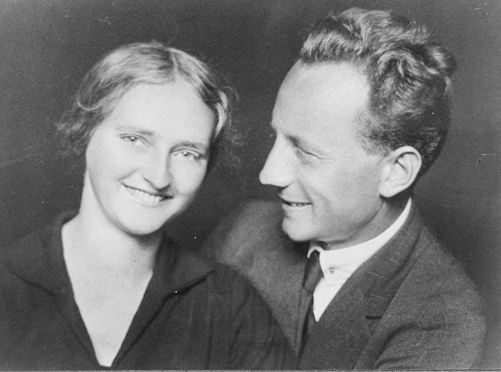 This is my favourite photograph, Erna and Erich Sittig, my grandparents.