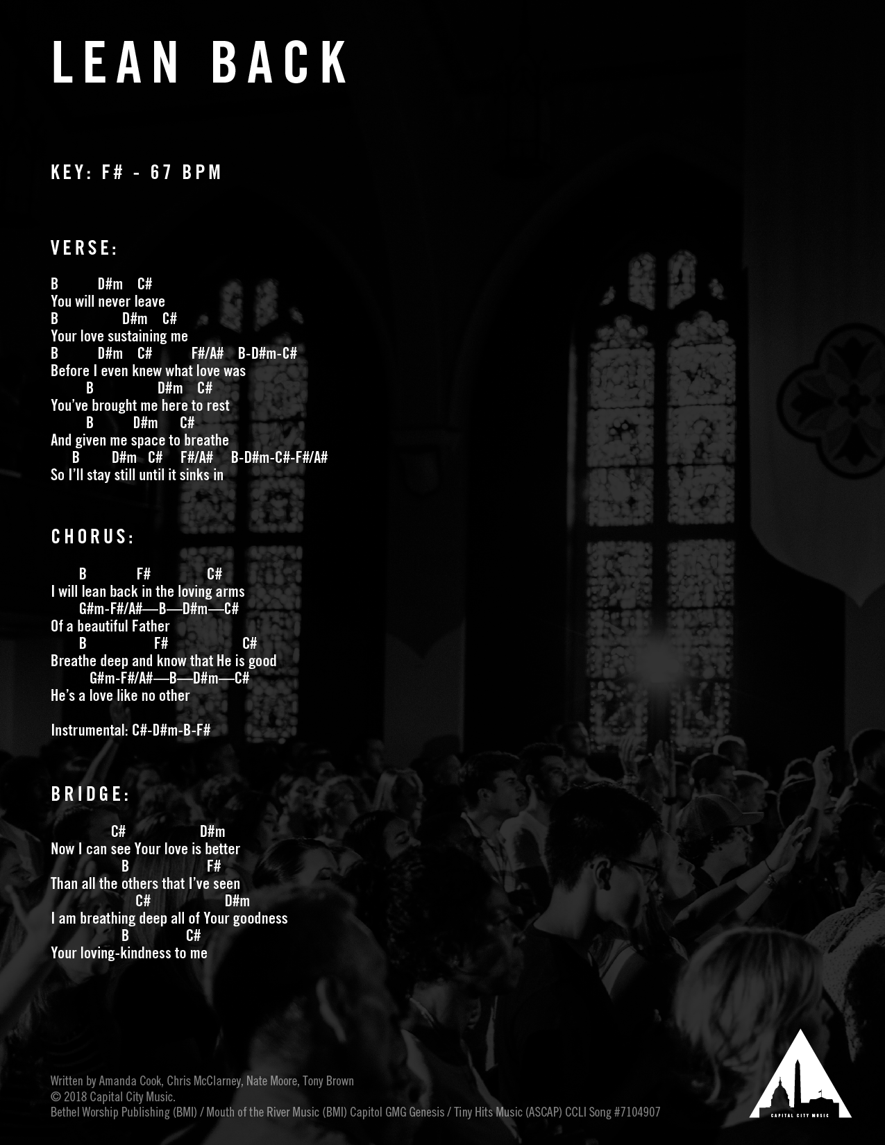 Chord Charts — Grace Capital City