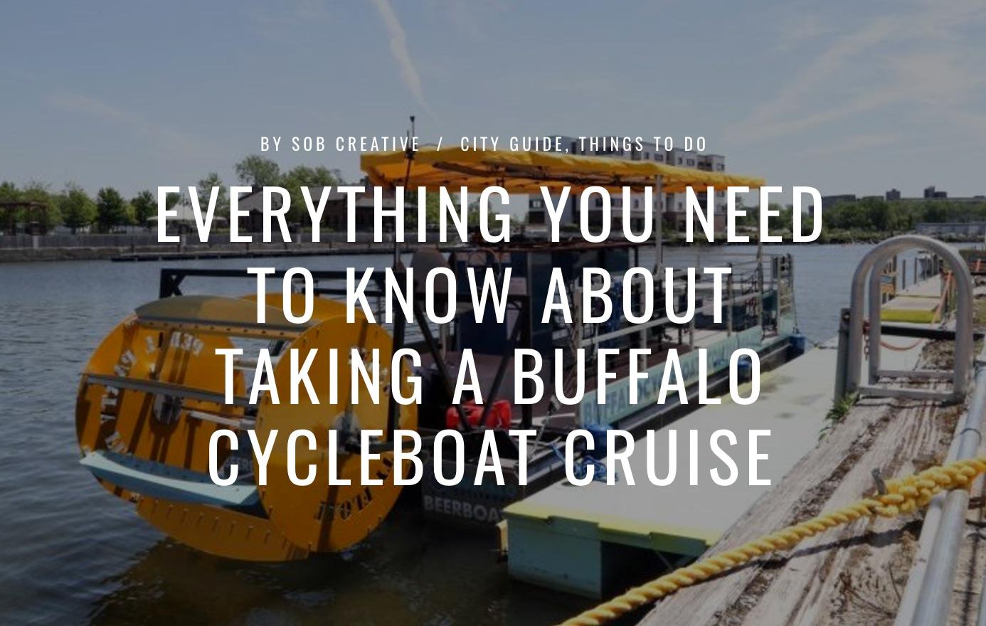Buffalo Pedal Boat