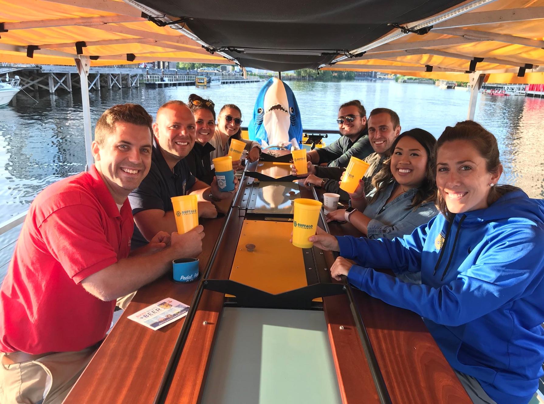 Buffalo CycleBoats Pedal Tour