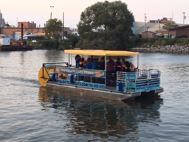 Buffalo Cycle Boat