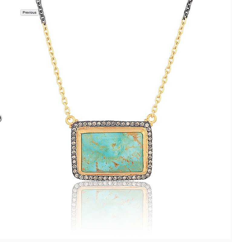 Lika Behar is the best turquoise around, she works in 22K & 24K gold