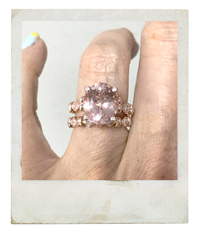 """""""I could not be happier and I feel as though I now possess the most beautiful ring on earth ! Many Thanks Shannon! - Sandra   READ MORE FACEBOOK REVIEWS HERE"""