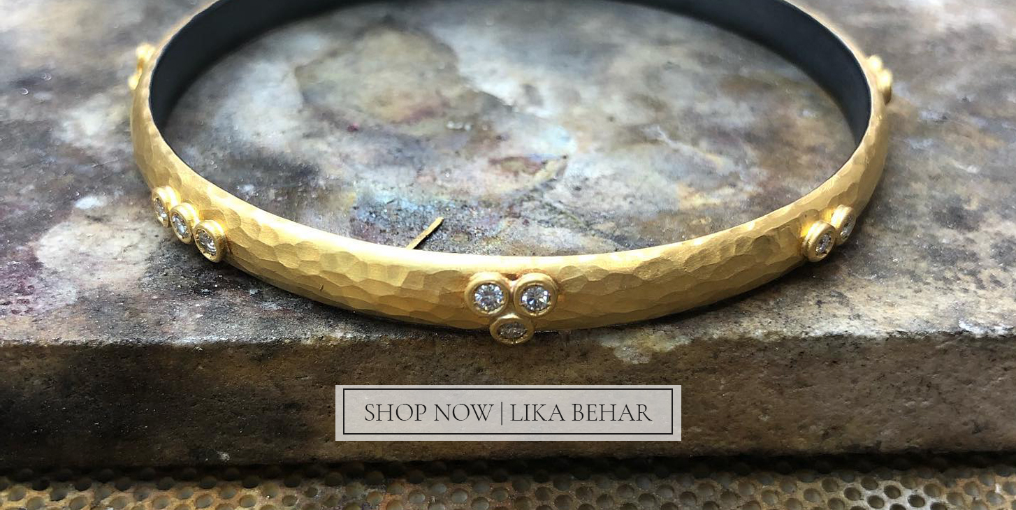 """Lika brings a modern sensibility to ancient fine jewelry making traditions. Each piece from the collection is uniquely hand wrought with the exquisite precision once celebrated by ancient artisans; yielding a tawny luxury fit for the modern woman."""