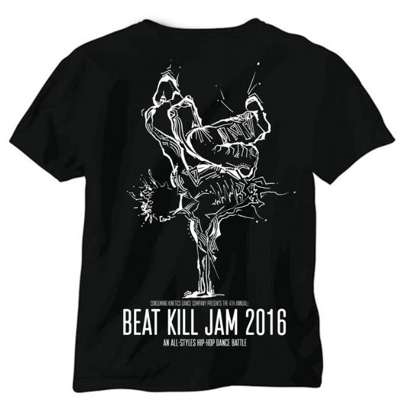 CKDC Beat Kill Jam t-shirt design 2016