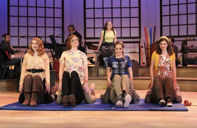 The cast of Godspell, Grandel Theatre April 2019